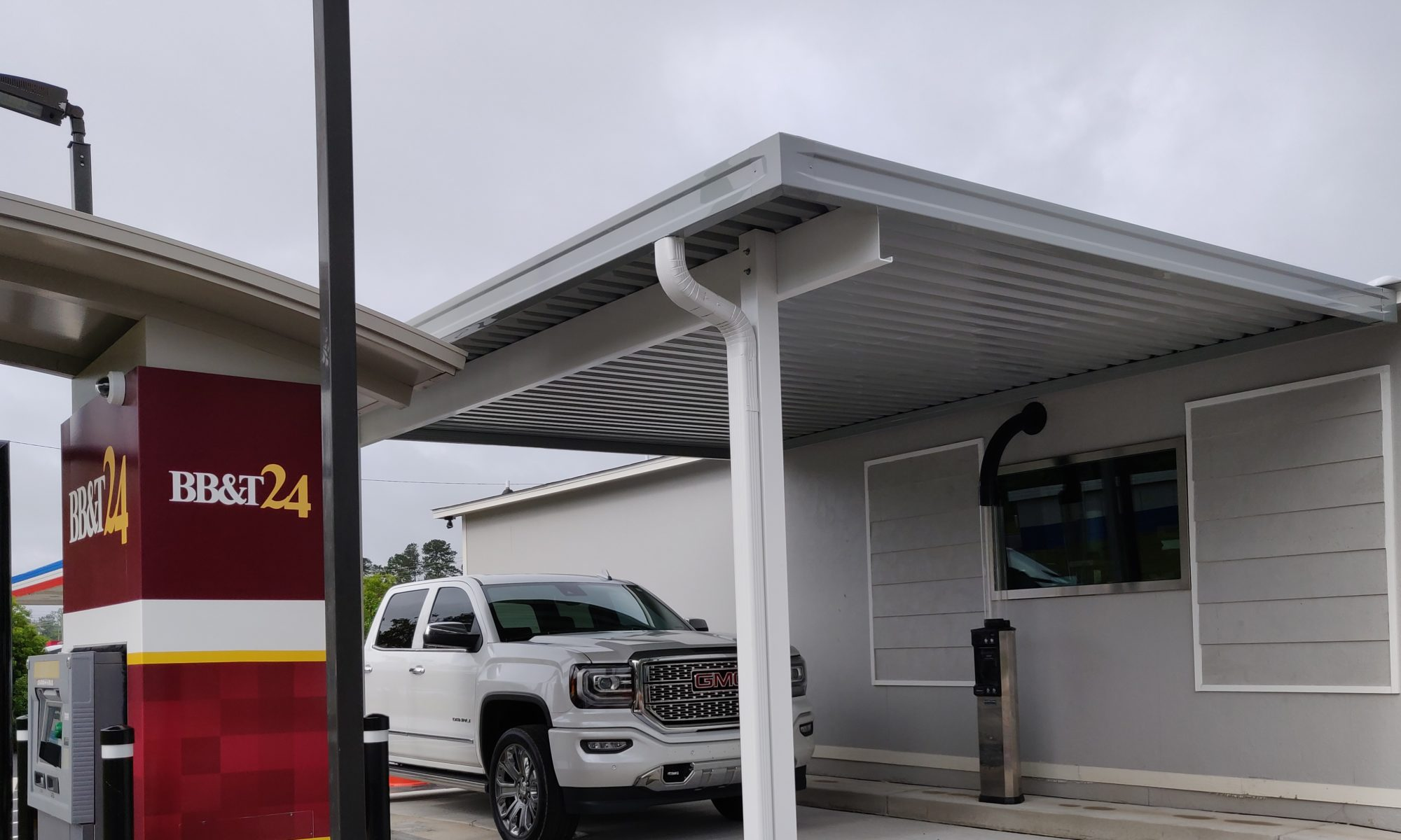 Commercial Aluminum Awning