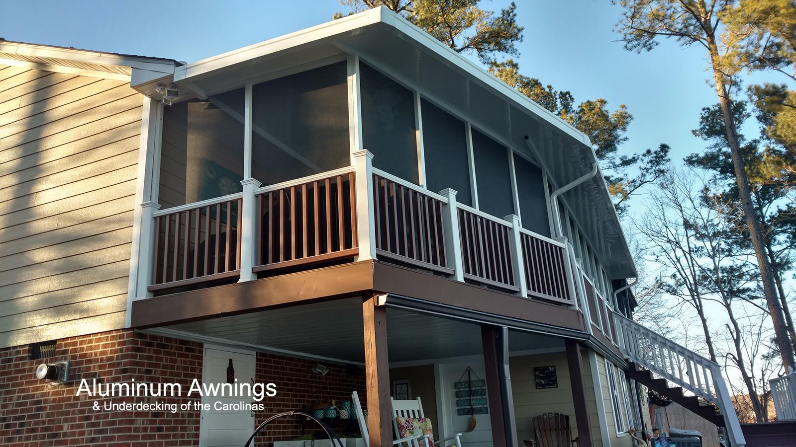 Under Decking Installation – Aluminum Awnings ...